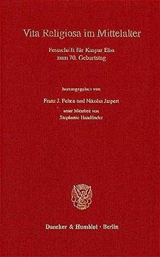 9783428099658: Vita religiosa im Mittelalter: Festschrift für Kaspar Elm zum 70. Geburtstag (Ordensstudien) (German Edition)