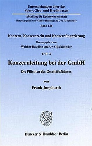 Konzernleitung bei der GmbH.: Frank Jungkurth