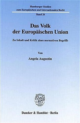 Das Volk der Europäischen Union: Angela Augustin