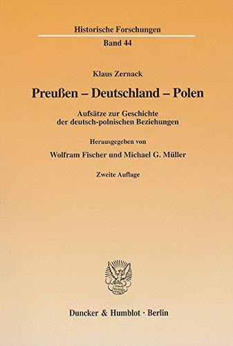 Preussen - Deutschland - Polen: Klaus Zernack