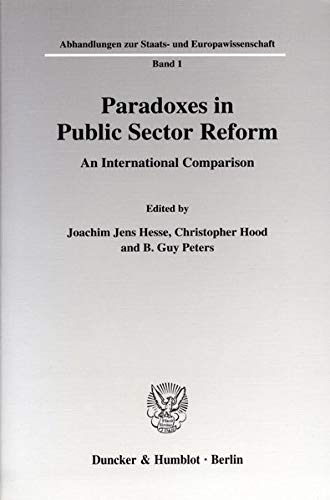 Paradoxes in Public Sector Reform