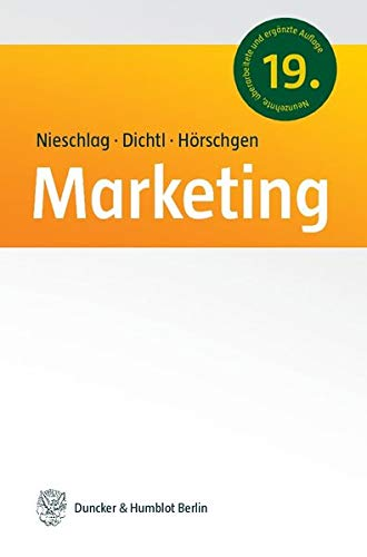 9783428109302: Marketing