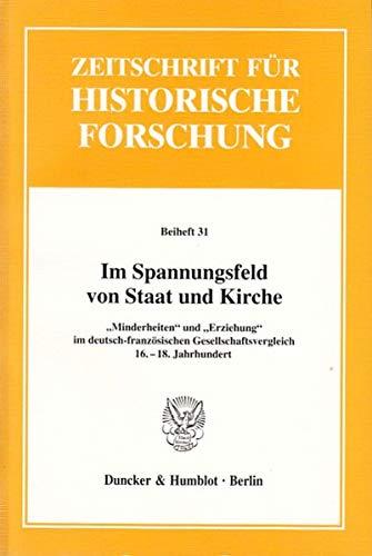 9783428109647: Im Spannungsfeld von Staat und Kirche: