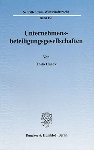 Unternehmensbeteiligungsgesellschaften: Thilo Haack