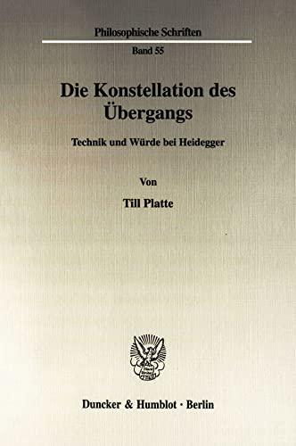 Die Konstellation des Übergangs: Till Platte
