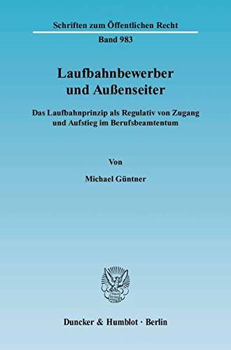 Laufbahnbewerber und Aussenseiter: Michael Güntner