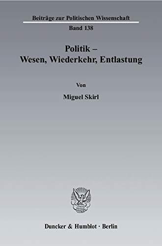 Politik - Wesen, Wiederkehr, Entlastung: Miguel Skirl