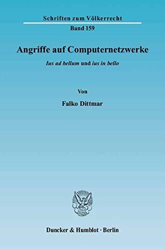 Angriffe auf Computernetzwerke: Falko Dittmar