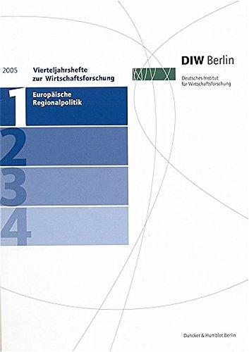 Vierteljahreshefte zur Wirtschaftsforschung 2005/1