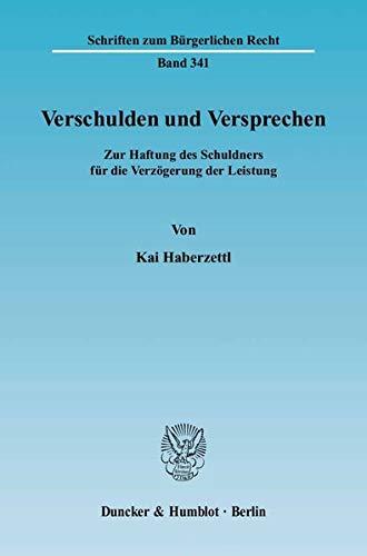 Verschulden und Versprechen: Kai Haberzettl