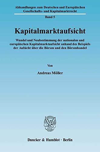 Kapitalmarktaufsicht: Andreas M�ller