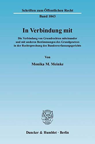 In Verbindung mit: Monika M. Meinke