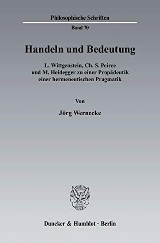 Handeln und Bedeutung: Jörg Wernecke