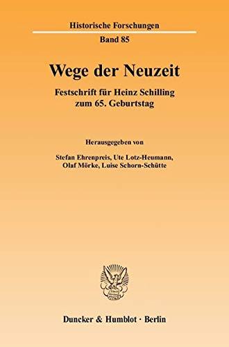 Wege der Neuzeit: Stefan Ehrenpreis
