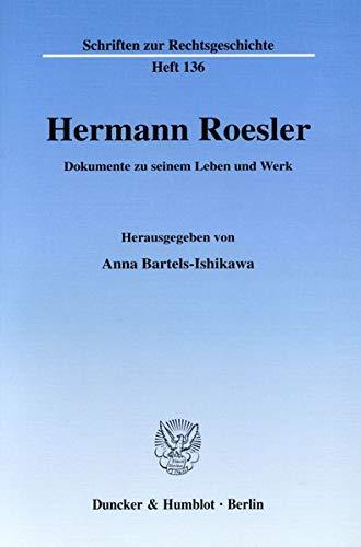 Hermann Roesler: Anna Bartels-Ishikawa