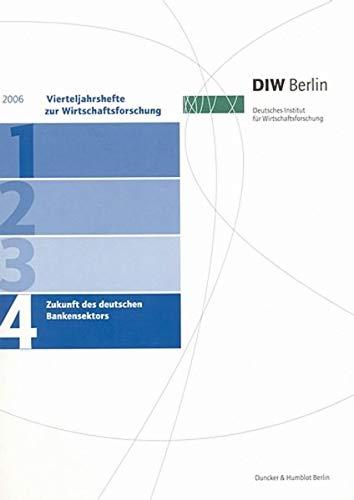 Vierteljahrshefte zur Wirtschaftsforschung 2006/4
