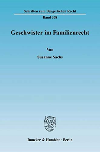 Geschwister im Familienrecht: Susanne Sachs