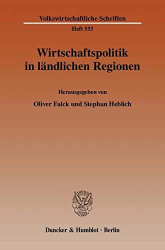 9783428126408: Wirtschaftspolitik in ländlichen Regionen