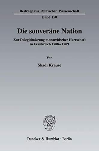 Die souveräne Nation: Skadi Krause