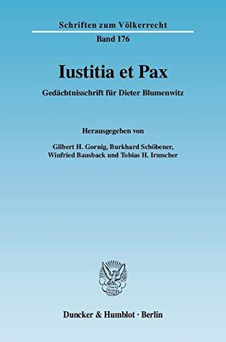 Iustitia et Pax: Gilbert H. Gornig