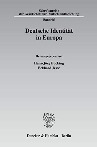 Deutsche Identität in Europa: Hans-Jörg Bücking