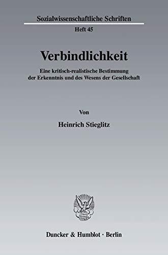 Verbindlichkeit: Heinrich Stieglitz