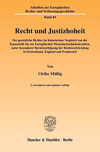 Recht und Justizhoheit: Ulrike Müßig