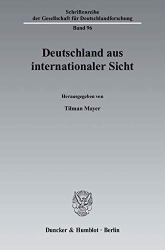Deutschland aus internationaler Sicht: Tilman Mayer