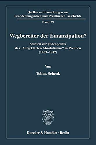 Wegbereiter der Emanzipation?: Tobias Schenk