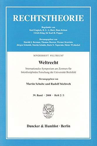 Weltrecht: Martin Schulte