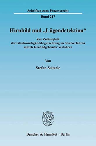 """Hirnbild und """"Lügendetektion"""": Stefan Seiterle"""