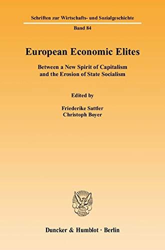 European Economic Elites: Friederike Sattler
