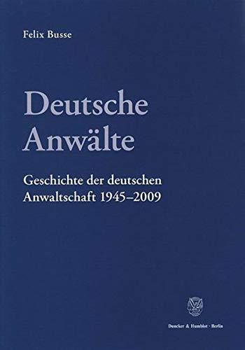 Deutsche Anwälte: Felix Busse