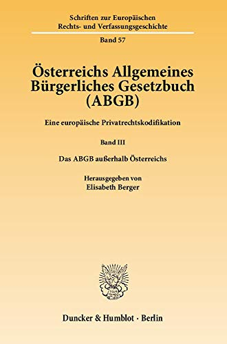 Österreichs Allgemeines Bürgerliches Gesetzbuch (ABGB): Elisabeth Berger