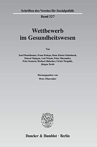 Wettbewerb im Gesundheitswesen: Josef Beutelmann