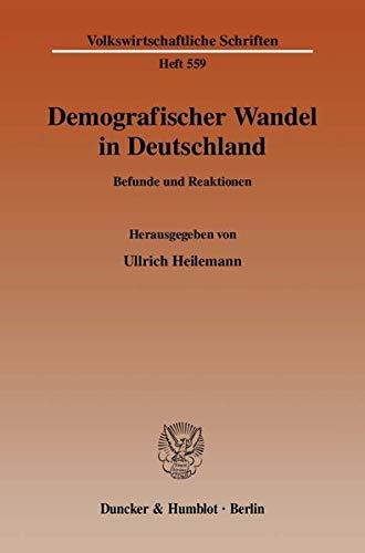 Demografischer Wandel in Deutschland: Ullrich Heilemann
