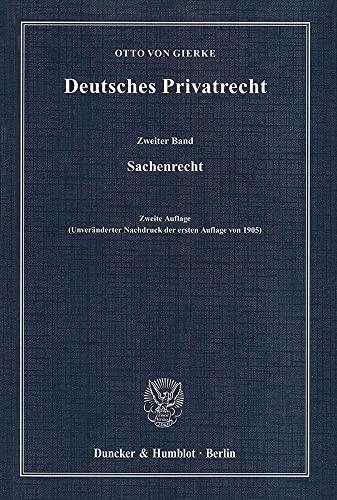 9783428134236: Deutsches Privatrecht 2