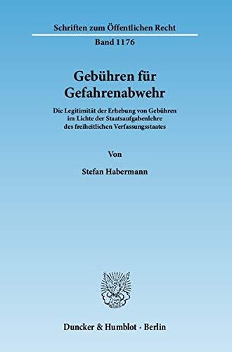 Gebühren für Gefahrenabwehr: Stefan Habermann