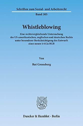 Whistleblowing: Rut Groneberg