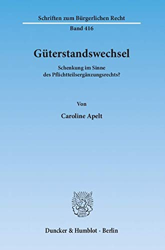 9783428136698: Güterstandswechsel