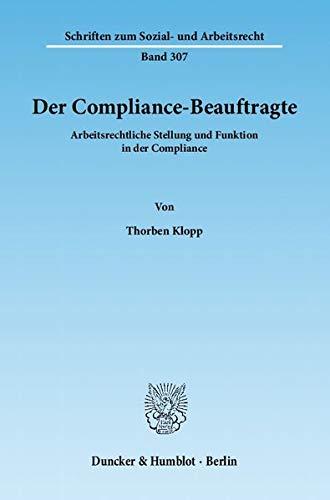 Der Compliance-Beauftragte: Thorben Klopp