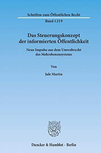 Das Steuerungskonzept der informierten Öffentlichkeit: Jule Martin