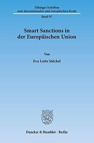 9783428138968: Smart Sanctions in der Europäischen Union