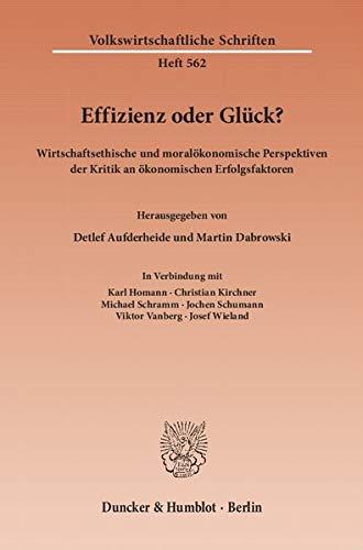 Effizienz oder Glück?: Detlef Aufderheide