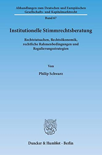 Institutionelle Stimmrechtsberatung: Philip Schwarz