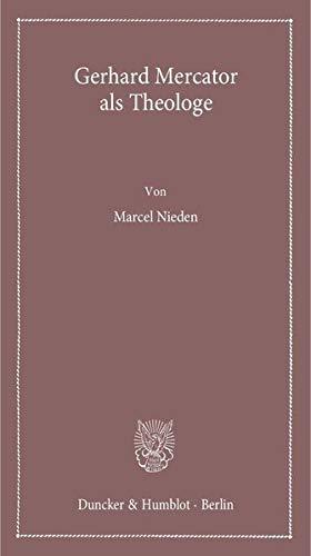 9783428141098: Gerhard Mercator als Theologe