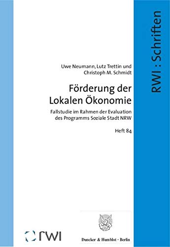 Förderung der Lokalen Ökonomie: Uwe Neumann