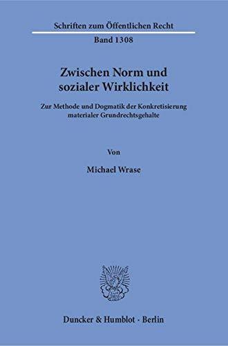 Zwischen Norm und sozialer Wirklichkeit.: Michael Wrase