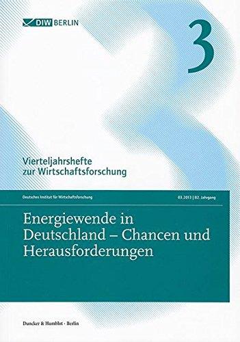 Energiewende in Deutschland - Chancen und Herausforderungen.