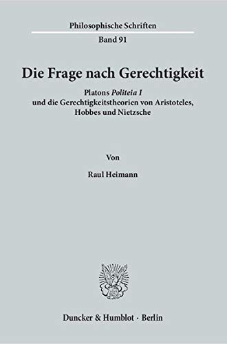 Die Frage nach Gerechtigkeit.: Raul Heimann